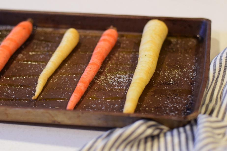 Roasted Carrot Polenta